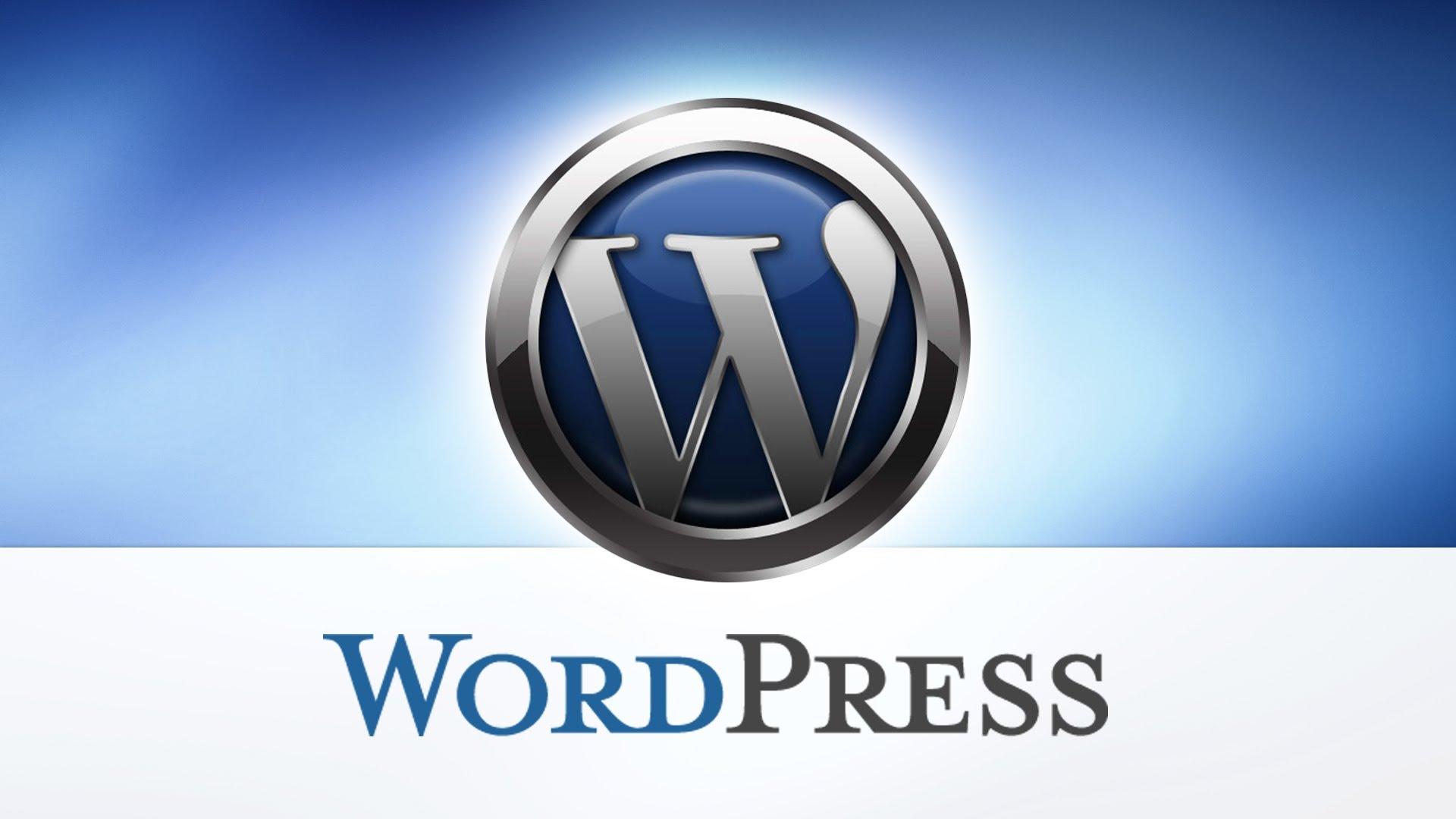 Resultado de imagen para wordpress logo